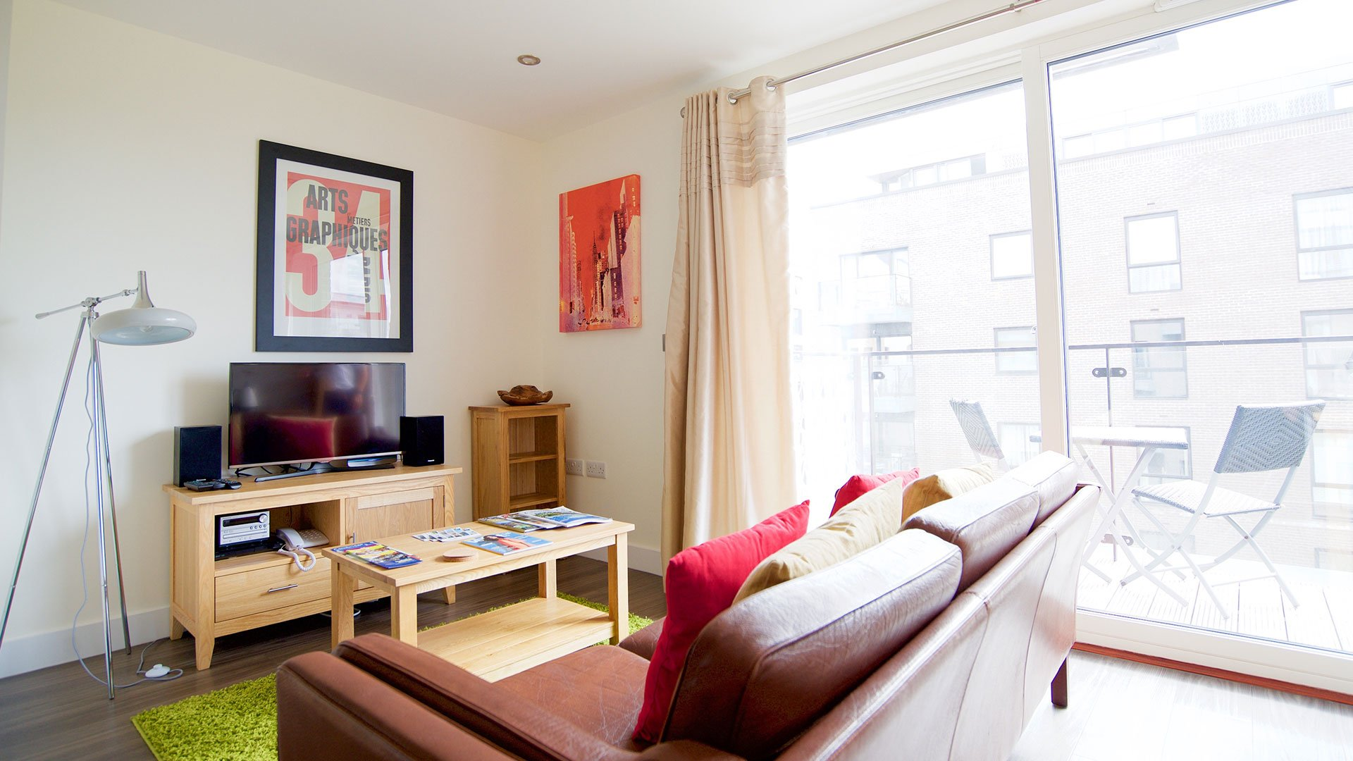 Ceres - a luxury studio apartment in central Cambridge.