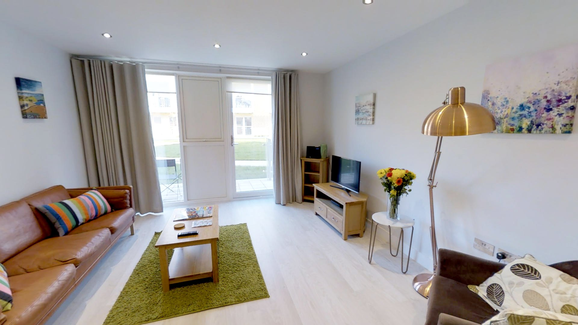 Ceres - a serviced studio apartment in central Cambridge.