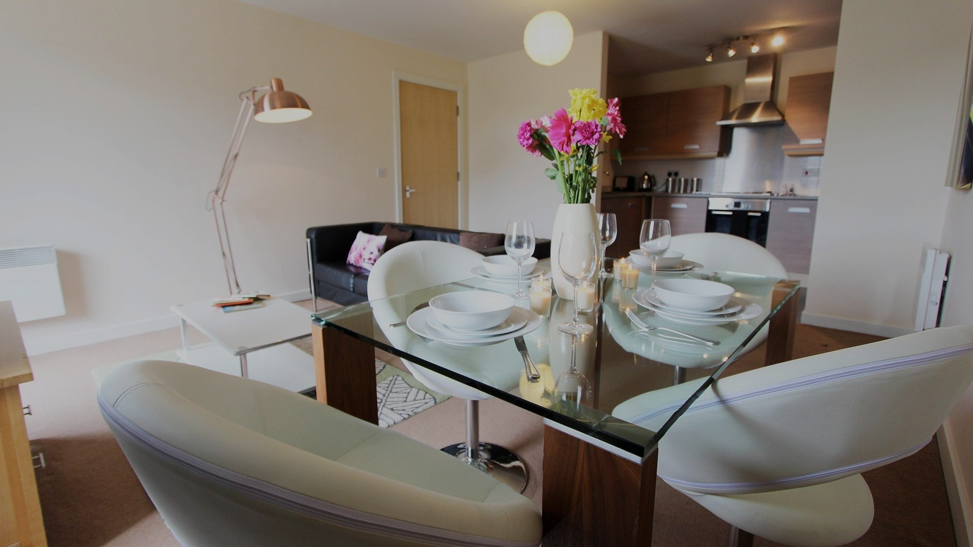 The Triangle - two bedroom luxury apartment in Cambridge by Signet Apartments.