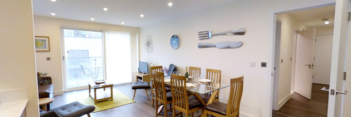 Ceres open plan dining room